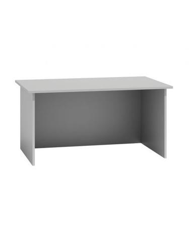 Biurko komputerowe Standard, szerokość 120 cm, białe