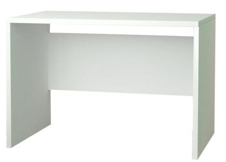 Biurko komputerowe, białe, 100 cm