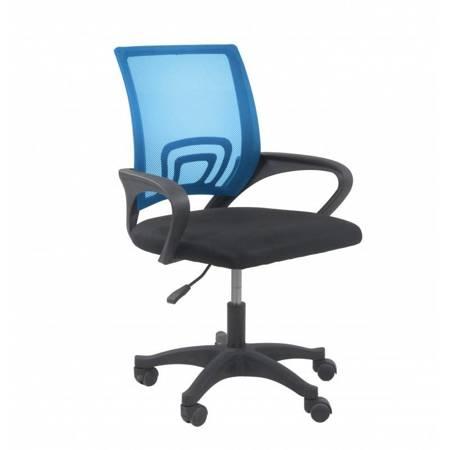 Fotel obrotowy Moris Niebieski