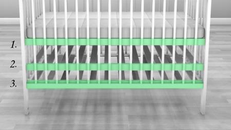 ŁÓŻECZKO DOMEK  z szufladą 140 x 70 kolor biały