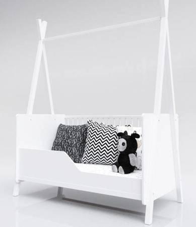 Łóżeczko Tapczanik Tipi 140x70 Biały