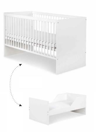 Łóżeczko dziecięce 140 x 70 cm + tapczanik