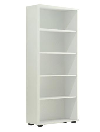 Regał biurowy wysoki 182 cm, G 60, szerokość 60cm kolor biały