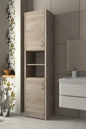 Słupek łazienkowy Adaś 2D 40 cm Sonoma