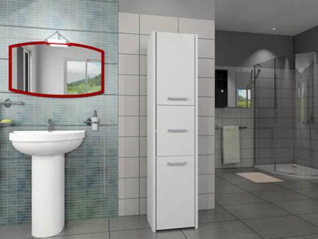 Słupek łazienkowy LUNA 40 3D